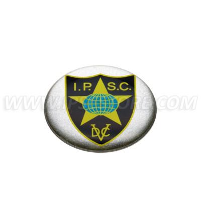 IPSC DVC buborék matrica, kicsi