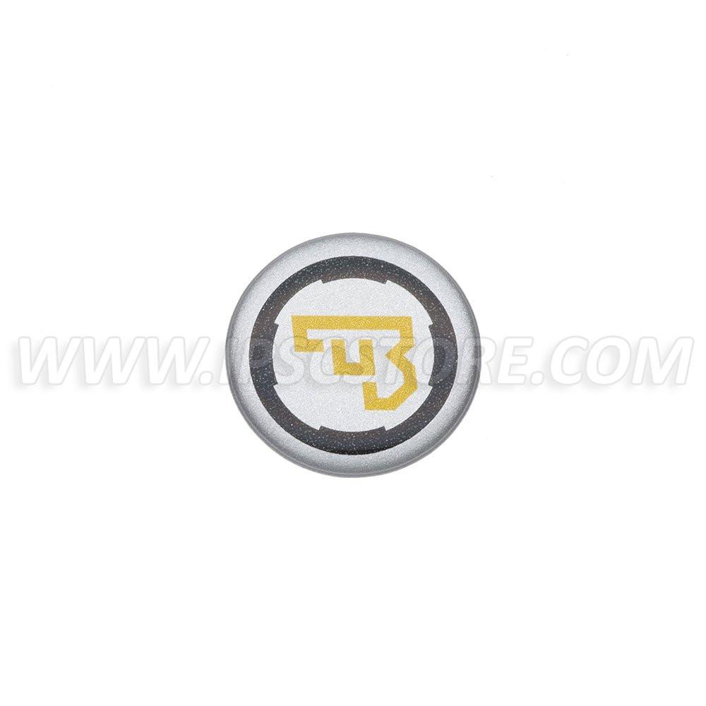 CZ Logo 3D Наклейка, маленькая