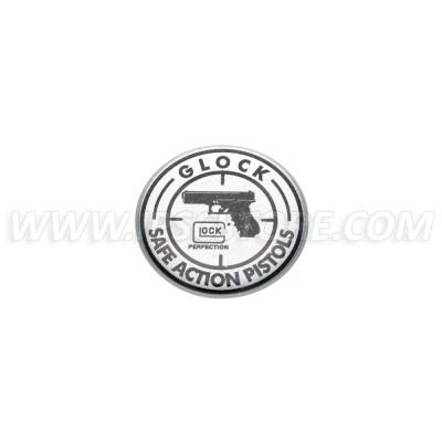 GLOCK Logo buborékos matrica, kicsi