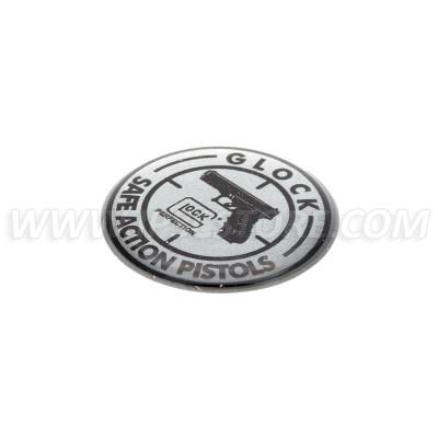 GLOCK Logo Наклейка, маленькая
