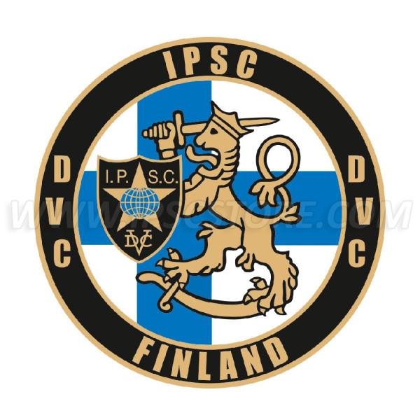 Наклейка IPSC Региона Финляндия