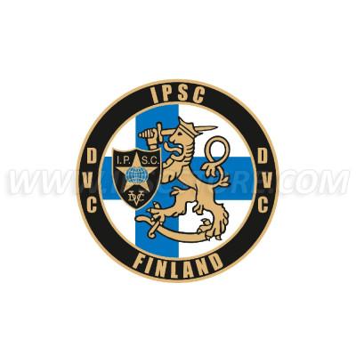 Finnish IPSC Region Sticker, Small