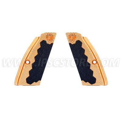 Eemann Tech Brass Short Grips for CZ 75, CZ 75 TS, CZ SHADOW 2
