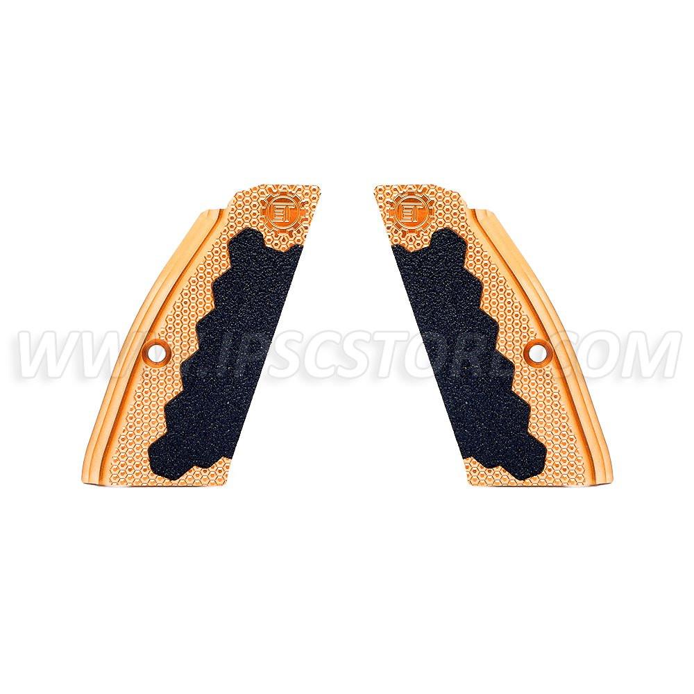 Латунные короткие накладки Eemann Tech для CZ 75, CZ 75 TS, CZ SHADOW 2
