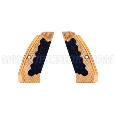 Латунные длинные накладки Eemann Tech для CZ 75, CZ 75 TS, CZ SHADOW 2