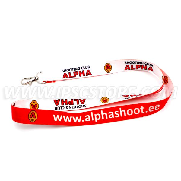 Шнурок Alpha Shooting Club