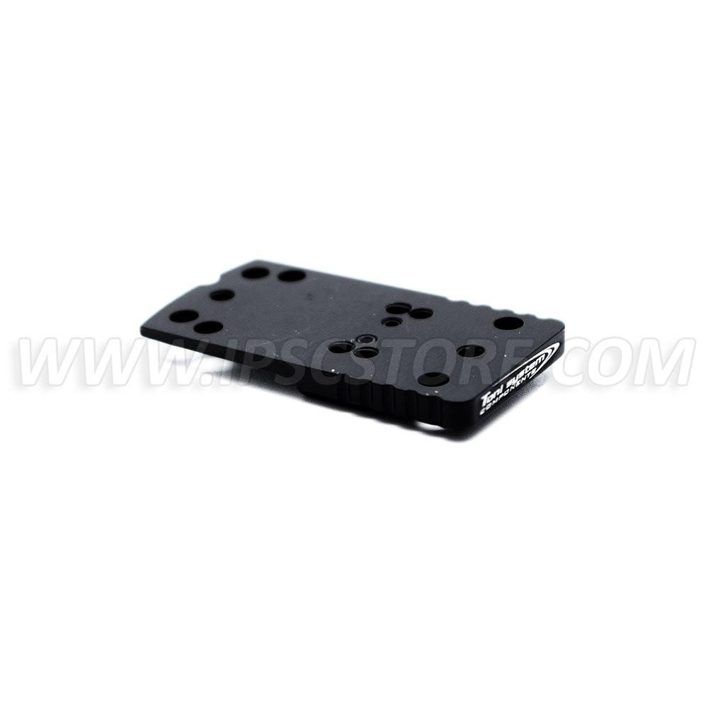 TONI SYSTEM OPXCZ Aluminium Red Dot Mount for CZ 75 SP-01 / CZ Shadow 2