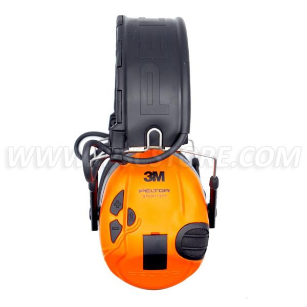 3M™ PELTOR™ SportTac™ Hearing protection Huntingfoldable headband orange/green MT16H210F-478-GN