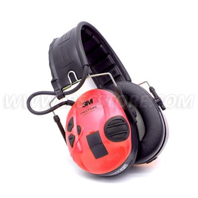 3M™ PELTOR™ SportTac™ Hearing protection Shootingfoldable headband red/black MT16H210F-478-RD