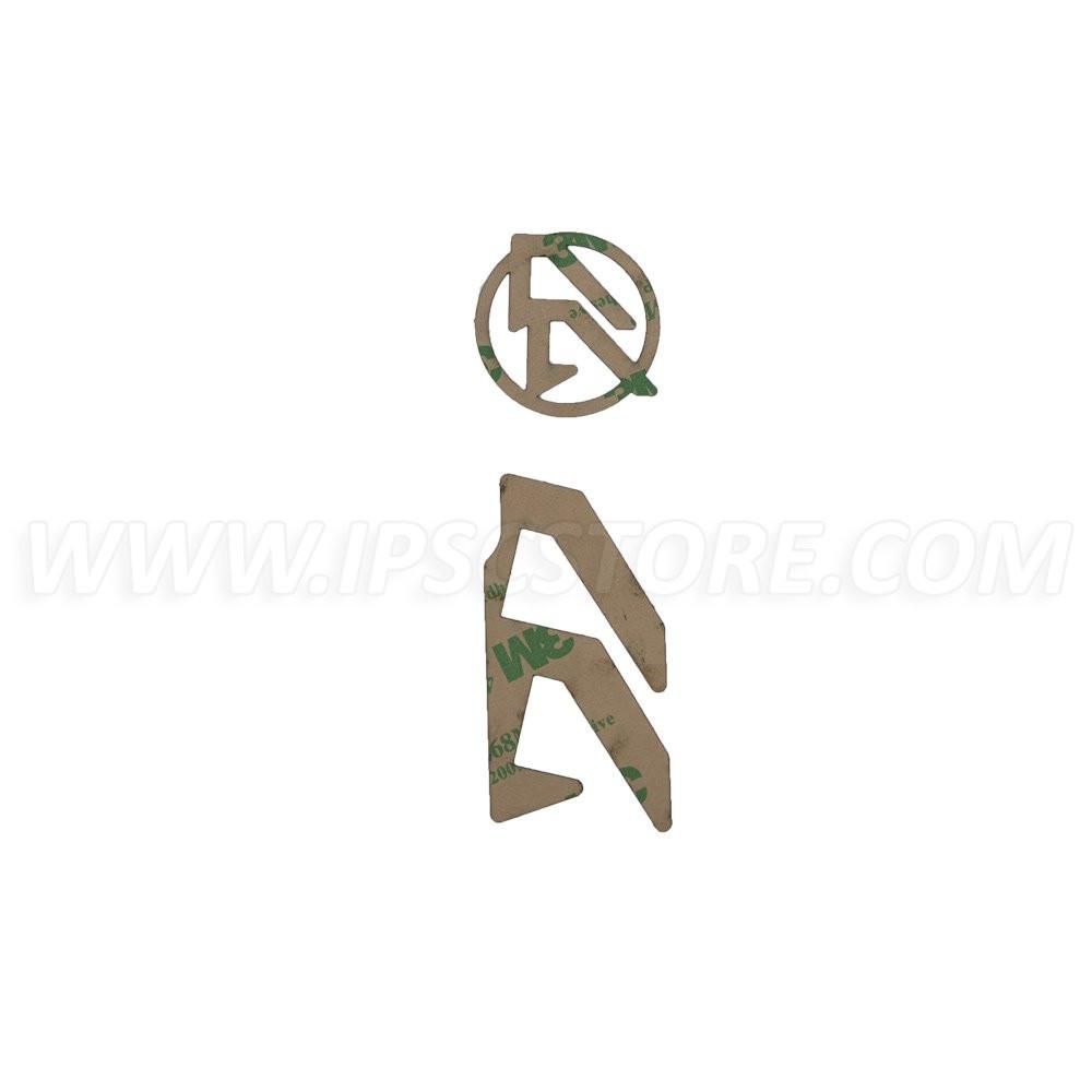 DAA Alpha-X Holster Logo Inlays