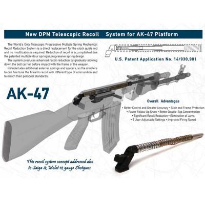 DPM TRS AK-47 Telescopic Recoil System for AK47