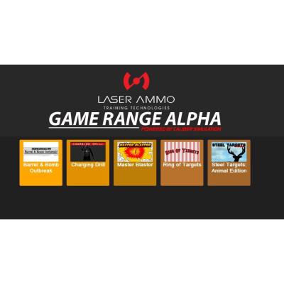 LASER AMMO GRA001 Game Range Alpha
