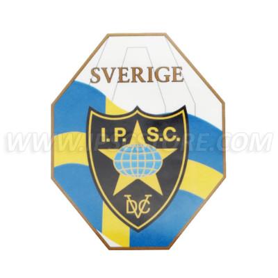 Swedish IPSC Region Sticker