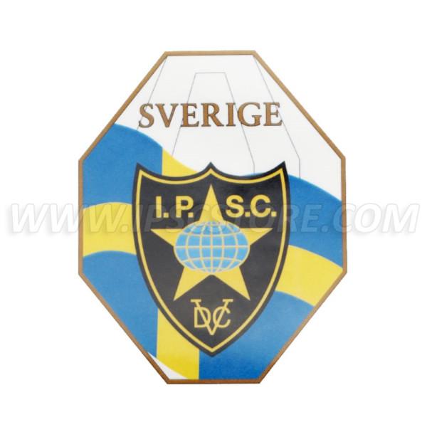 Наклейка IPSC Региона Швеция