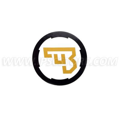 Наклейка с логотипом СZ