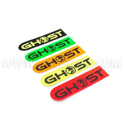 Ghost Logo Oval Sticker