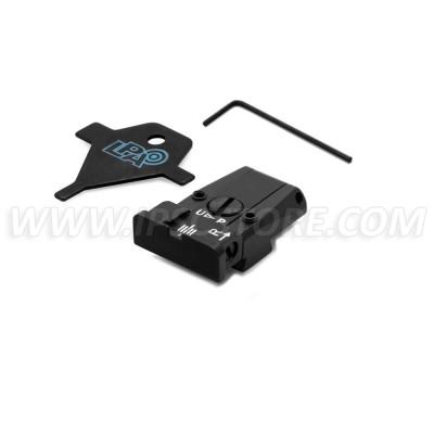 LPA TR90TA07 Adjustable Rear Sight for Tanfoglio