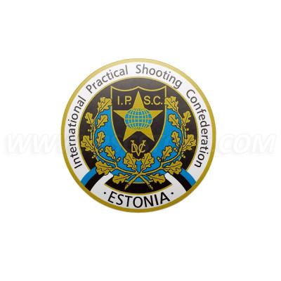 Наклейка IPSC региона Эстония