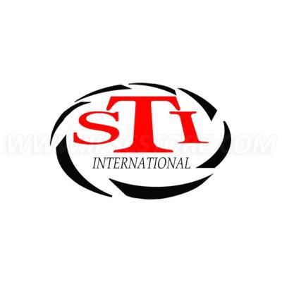 Наклейка c логотипом STI, 30x20мм