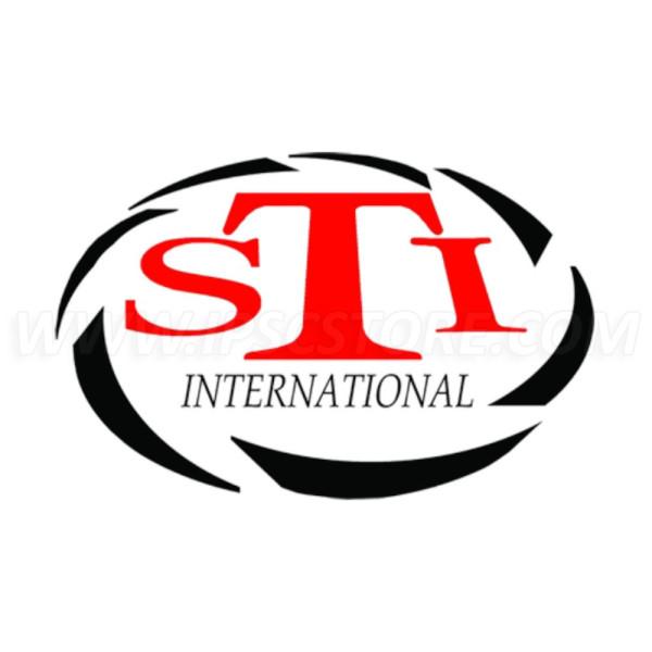 STI Logo Sticker, 75x45mm