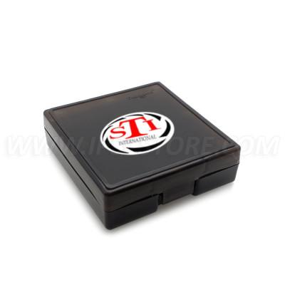 Наклейка c логотипом STI, 75x45мм
