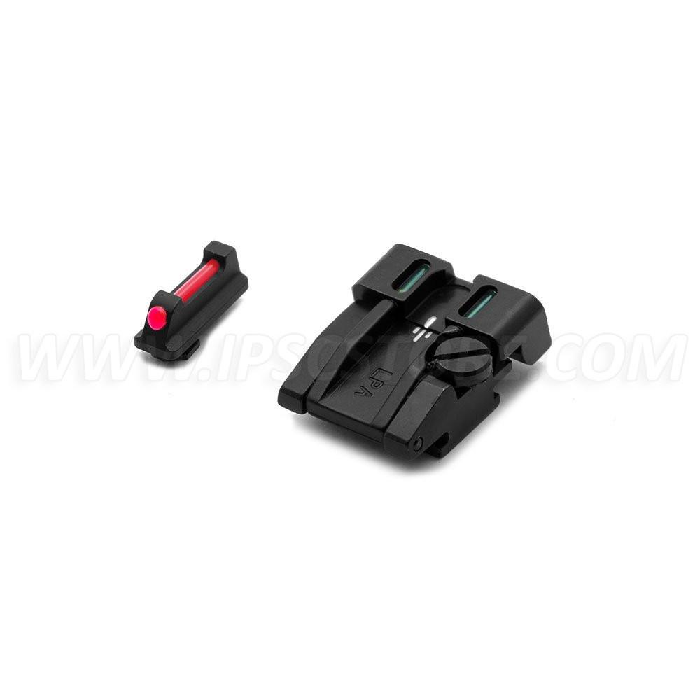 Комплект Регулируемых Прицельных LPA SPF15WA для Walther P99, PPQ, PPQM2 (No calibro 22)