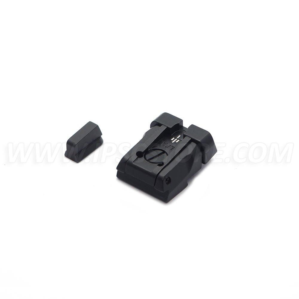 Комплект регулируемый целик с мушкой с белыми точками LPA SPS06CZ30 для CZ SP01 SHADOW, CZ SHADOW 2