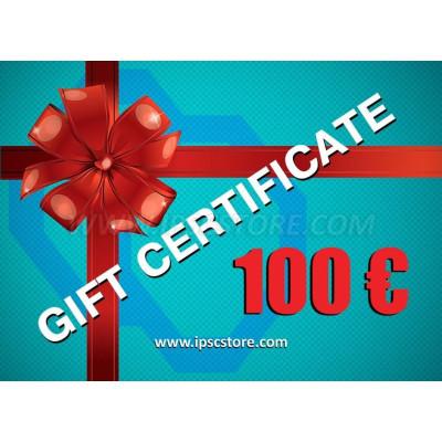 IPSCStore Πιστοποιητικό ΔΩΡΟΥ - € 100