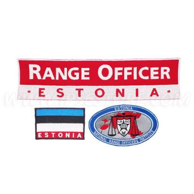 Estonian NROI RO Patches Set