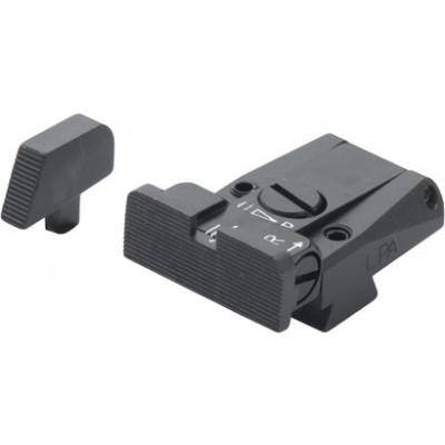 LPA Adjustable sight set for COLT SERIES 80