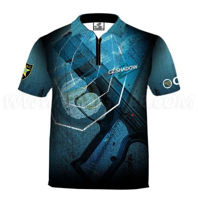 DED CZ Shadow2 Blue T-shirt