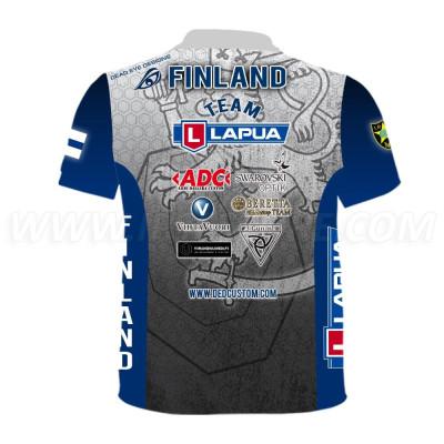 DED RWS Finland Gray T-shirt