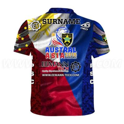 Футболка DED Eemann Tech Australasia 2019