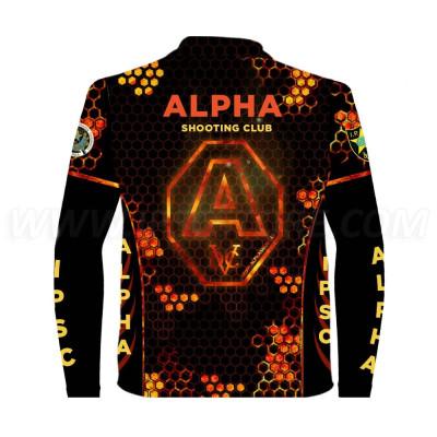 Футболка с длинными рукавами ALPHA Shooting Club 2019 Official