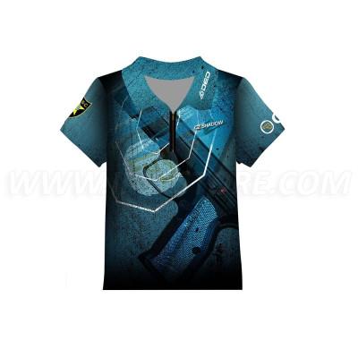 DED Children's CZ Shadow2 Blue T-shirt