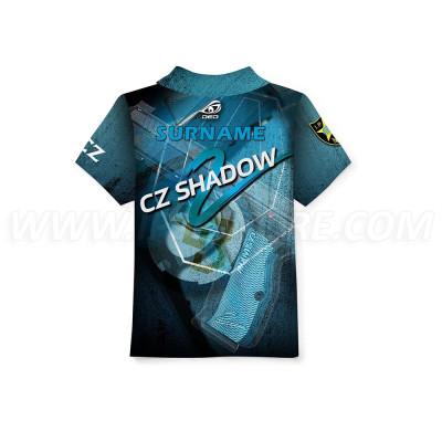 Детская футболка DED Children's CZ Shadow2 Blue