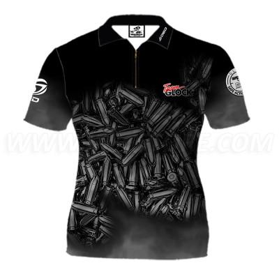 DED Women's Team Glock T-Shirt Black