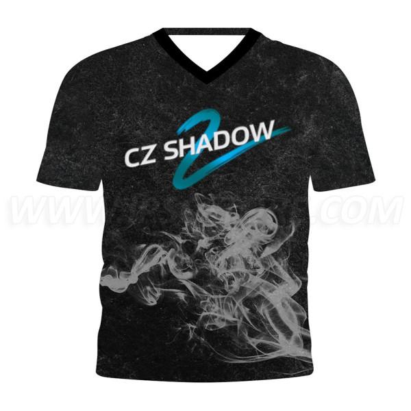 DED CZ Shadow 2 T-shirt Smoke - Black