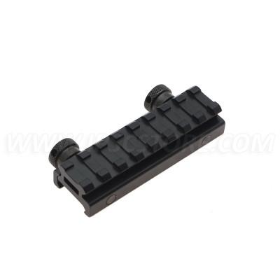 AR Flat-Top 8 Slot Riser Base Picatinny Rail