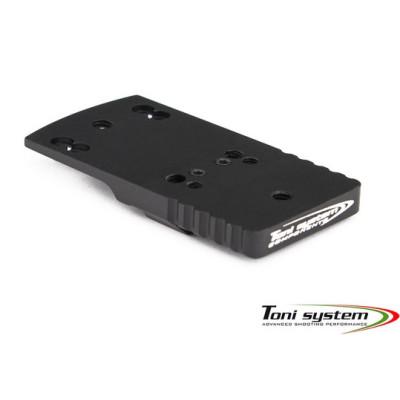 TONI SYSTEM OPXSDVCT Aluminium Red Dot Mount for 2011 STI DVC Tactical