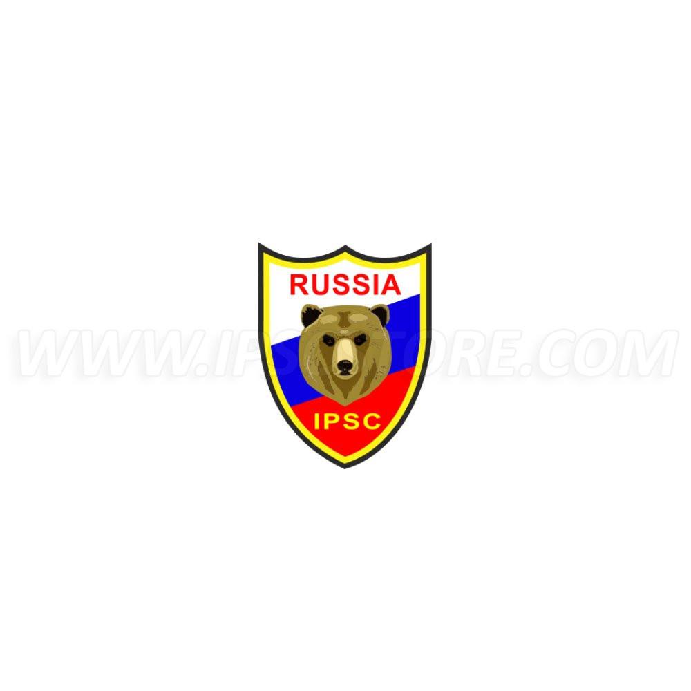 Наклейка IPSC Россия - 2,5см