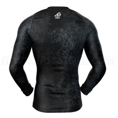 DED Женская спортивная компрессионная футболка с длинным рукавом