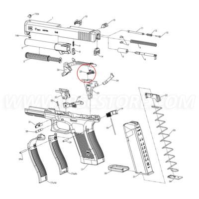 Glock Trigger Spring GEN5