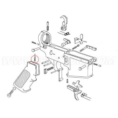 Eemann Tech AR-15 Selector Detent Spring