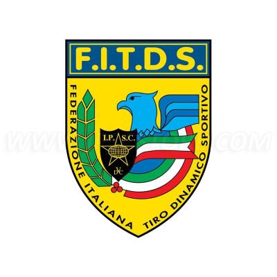 Наклейка IPSC FITDS - 9см