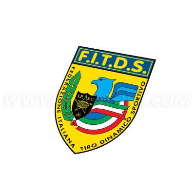 IPSC FITDS Sticker - 9cm
