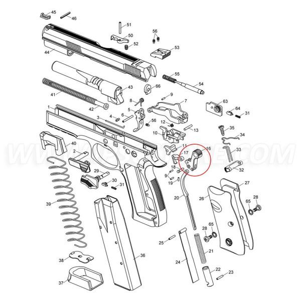 CZ SP-01 Hammer