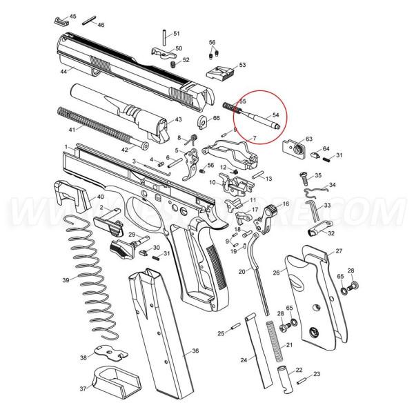 CZ 75 SP-01 Firing Pin