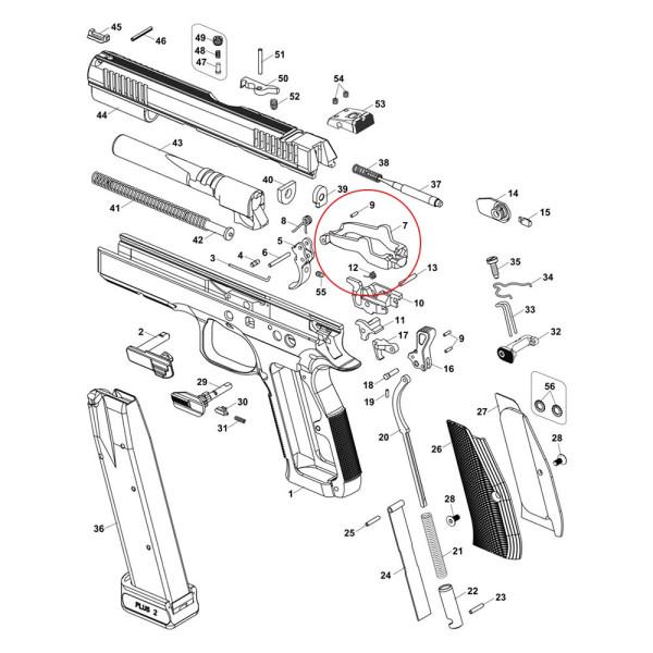 CZ Shadow 2 Trigger Bar
