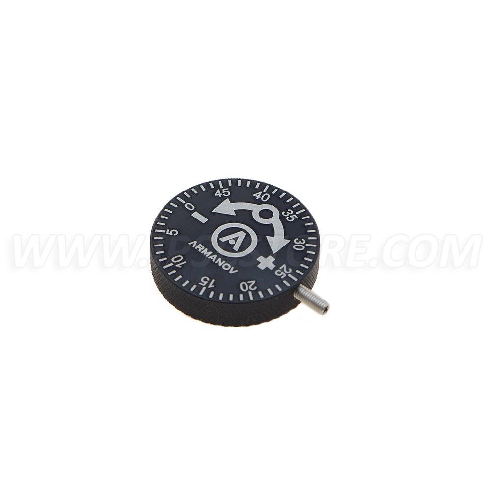 Armanov DL50KNB Clickable Powder Thrower Adjustment Knob